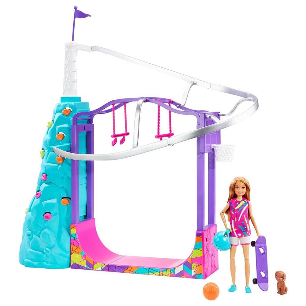 Playset e Boneca Barbie - Stacie - Esportes Radicais - Mattel