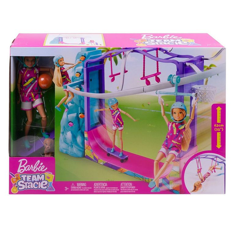 1400 Gbk Roblox Playset E Boneca Barbie Stacie Esportes Radicais Mattel Ri Happy Brinquedos