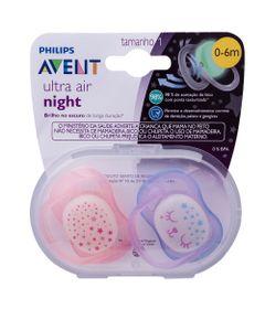 conjunto-com-2-chupetas-ultra-air-night-bico-de-silicone-0-a-6-meses-rosa-philips-avent-SCF376-12_Frente