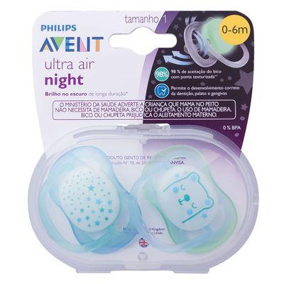 conjunto-com-2-chupetas-ultra-air-night-bico-de-silicone-0-a-6-meses-azul-philips-avent-SCF376-11_Frente