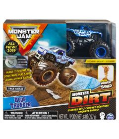 playset-com-rampa-e-veiculo-monster-jam-dirt-starter-blue-thunder-sunny-2028_frente