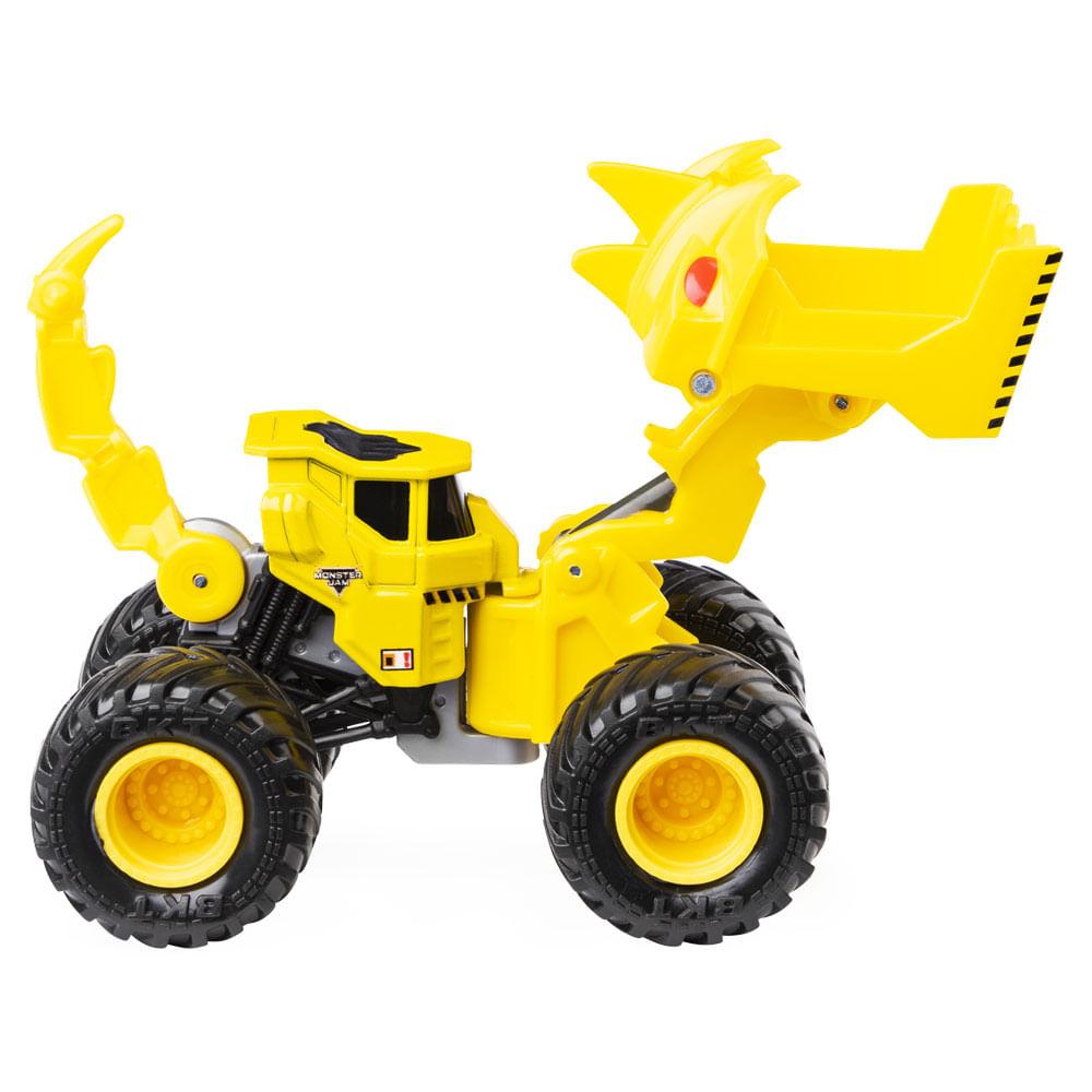 Veículo Monster Jam - Escala 1:64 - Dirt Squad - Scoopz - Sunny