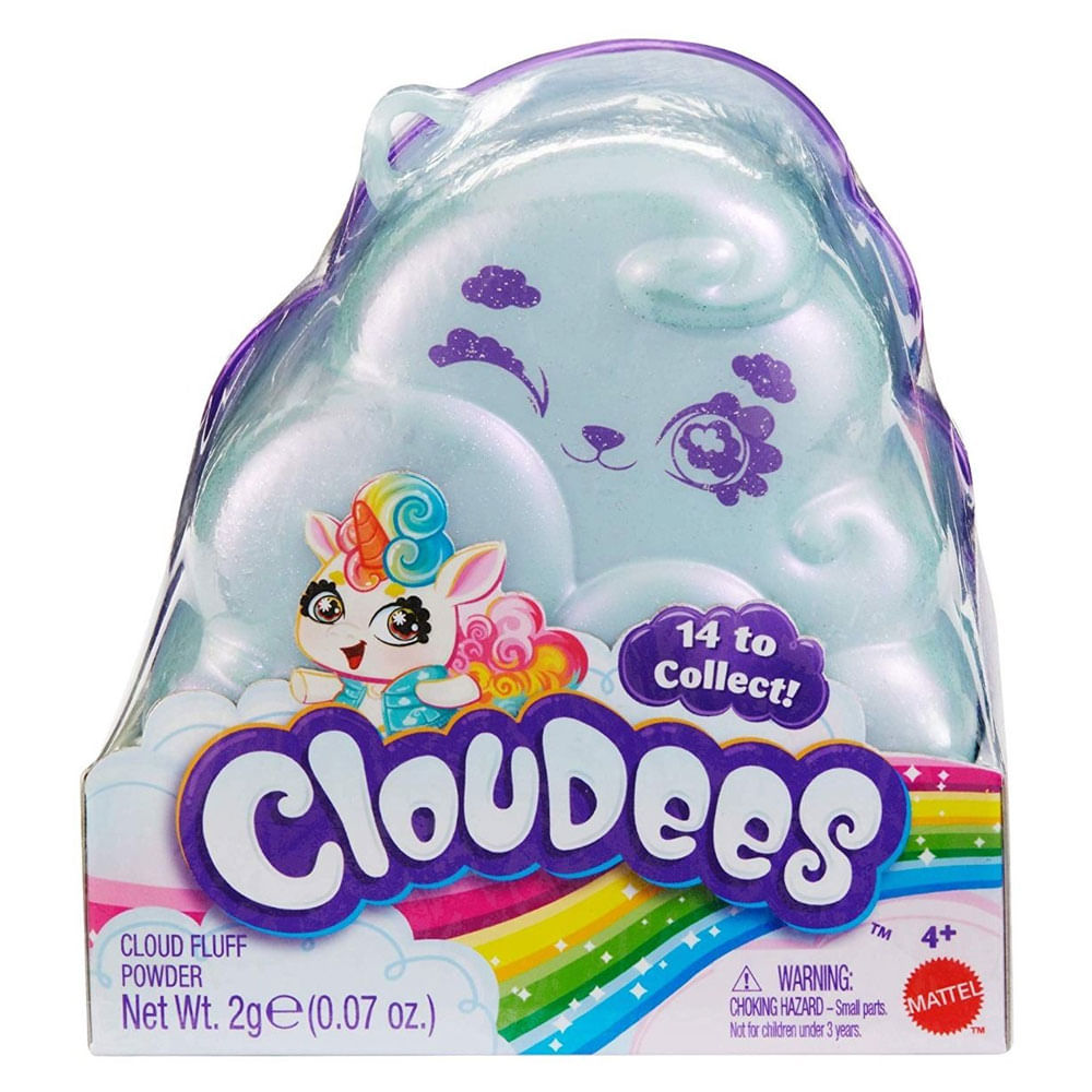 Mini Figura Surpresa - Cloudees - 6 Surpresas - Mattel
