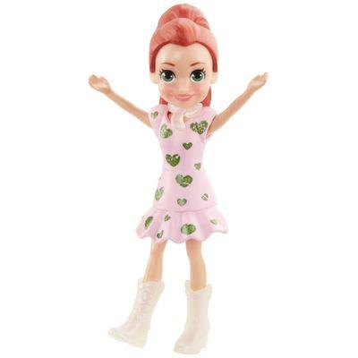 Boneca-e-Acessorios---Polly-Pocket---Polly-Happy-Hour---Lila-com-Vestido-Rosa---Mattel