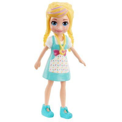 Boneca-e-Acessorios---Polly-Pocket---Polly-Happy-Hour---Polly-com-Vestido-Verde---Mattel