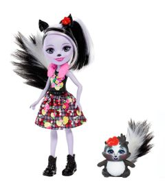 Boneca-Fashion-e-Pet---Enchantimals---Sage-Skunk-e-Caper---Mattel
