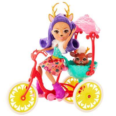 Boneca-Fashion-e-Veiculo---Enchantimals---Wonderwood---Amiguinhos-de-Bicicleta---Mattel