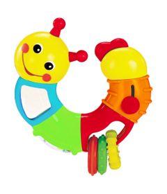 Brinquedo-de-Atividades---Lagarta-Giratoria---Antena-Vermelha---Minimi