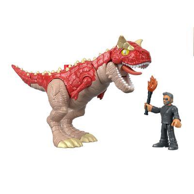 Figura-Basica-Imaginext---Jurassic-World-2---Carnotaurus-e-Doutor-Malcolm