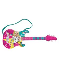 Guitarra-Musical-com-MP3-Player---Barbie---Guitarra-Fabulosa---Modelo-Novo---Fun
