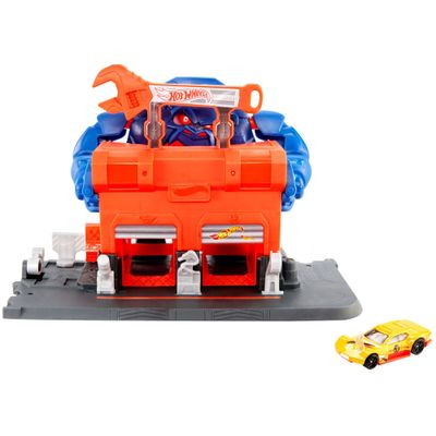 Pista-Hot-Wheels---Ataque-de-Gorila-na-Garagem---Mattel