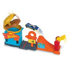 Pista-Hot-Wheels---City-Downtown---Loja-de-Hamburguer---Mattel