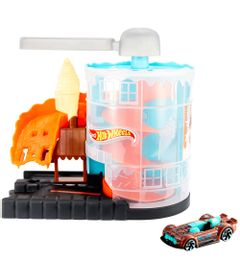 Pista-Hot-Wheels---City-Downtown---Loja-de-Sorvete---Mattel