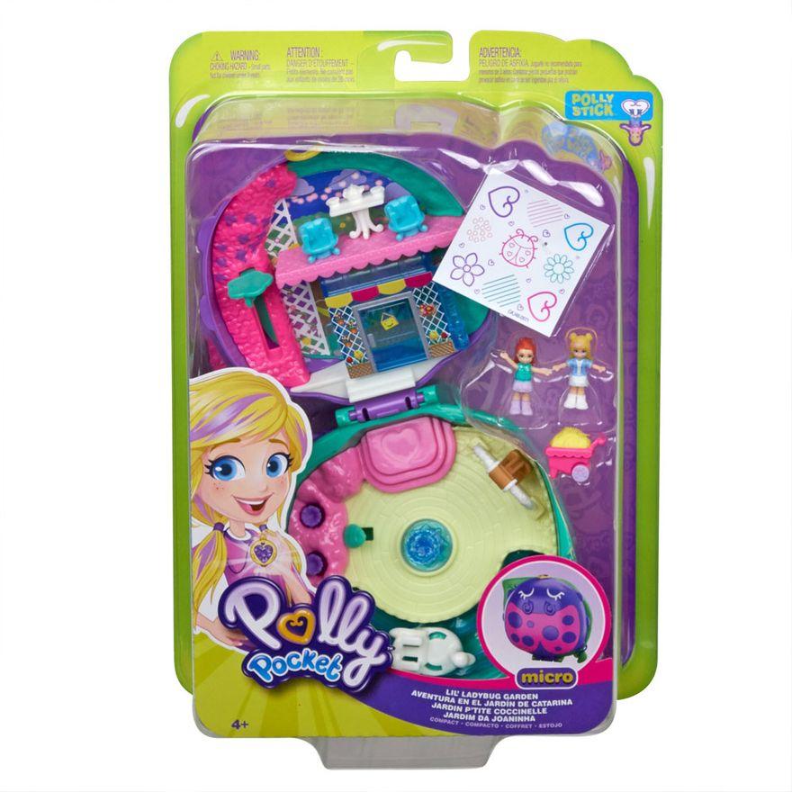 Mini-Boneca-com-Acessorios---Mini-Polly-Pocket---Jardim-da-Joaninha---Mattel