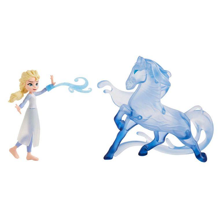 Conjunto De Mini Figuras Disney Frozen 2 Elsa E Nokk