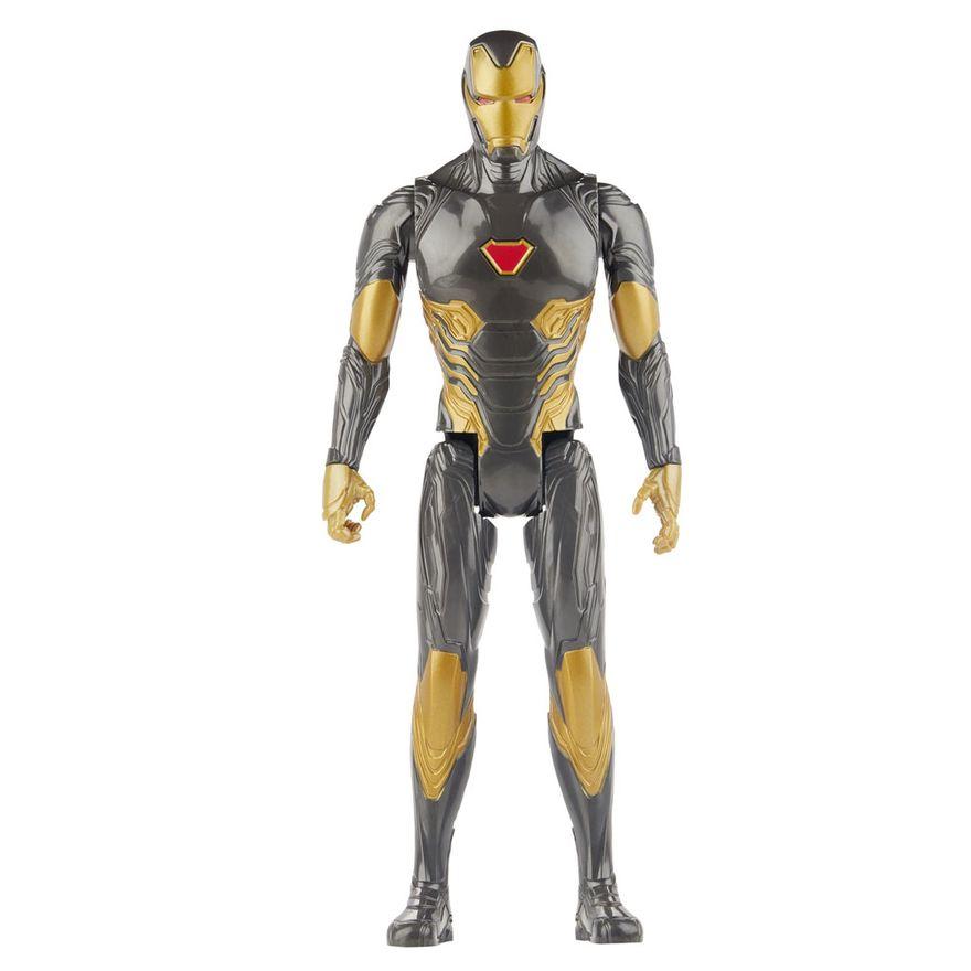 Figura-Articulada---30-Cm---Titan-Heroes---Disney---Marvel---Avengers---Iron-Man-Black-Suit---Hasbro
