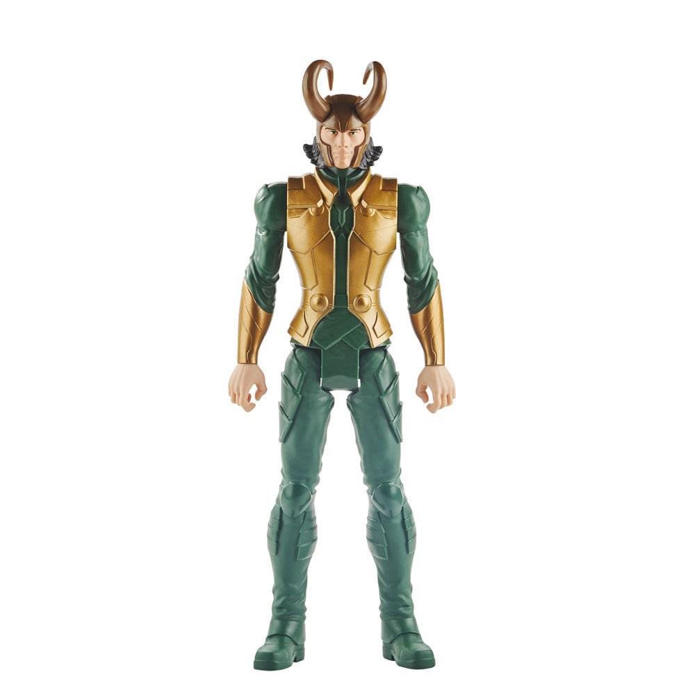 Figura Articulada - 30 Cm - Titan Heroes - Disney - Marvel - Avengers - Loki - Hasbro