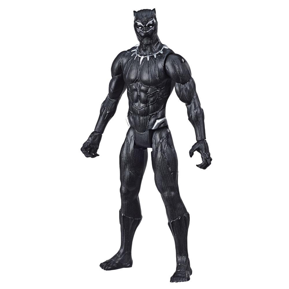 Figura Articulada - 30 Cm - Titan Heroes - Disney - Marvel - Avengers - Pantera Negra - Hasbro