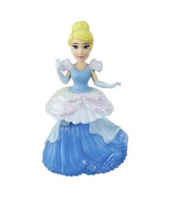 Mini-Boneca---15-Cm---Disney---Princesas---Royal-Clips---Cinderela---Hasbro
