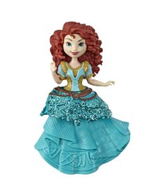 Mini-Boneca---15-Cm---Disney---Princesas---Royal-Clips---Merida---Hasbro