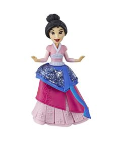 Mini-Boneca---15-Cm---Disney---Princesas---Royal-Clips---Mulan---Hasbro