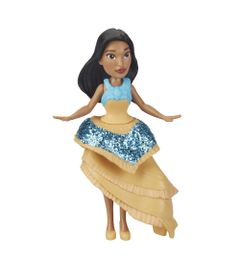 Mini-Boneca---15-Cm---Disney---Princesas---Royal-Clips---Pocahontas---Hasbro