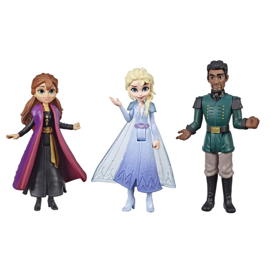 Conjunto-de-Mini-Figuras---Disney---Frozen-2---Companheiros-de-Viagem---Hasbro