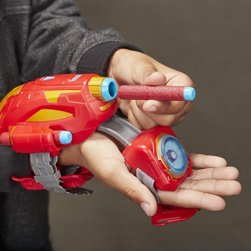 Lancador-Nerf---Power-Moves---Disney---Marvel---Iron-Man---Raio-Repulsor---Hasbro