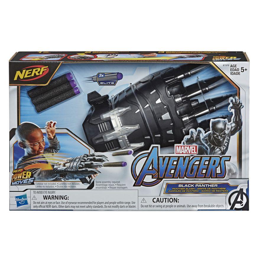 Lancador-Nerf---Power-Moves---Disney---Marvel---Pantera-Negra---Garra-Pantera---Hasbro
