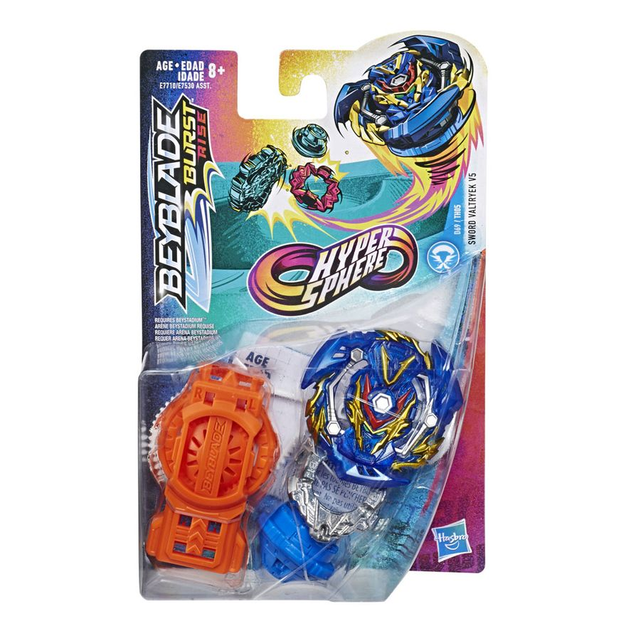 Piao-de-Batalha---Beyblade-Burst-Rise---Hyper-Sphere-Starter---Sword-Valtryek-V5---Hasbro