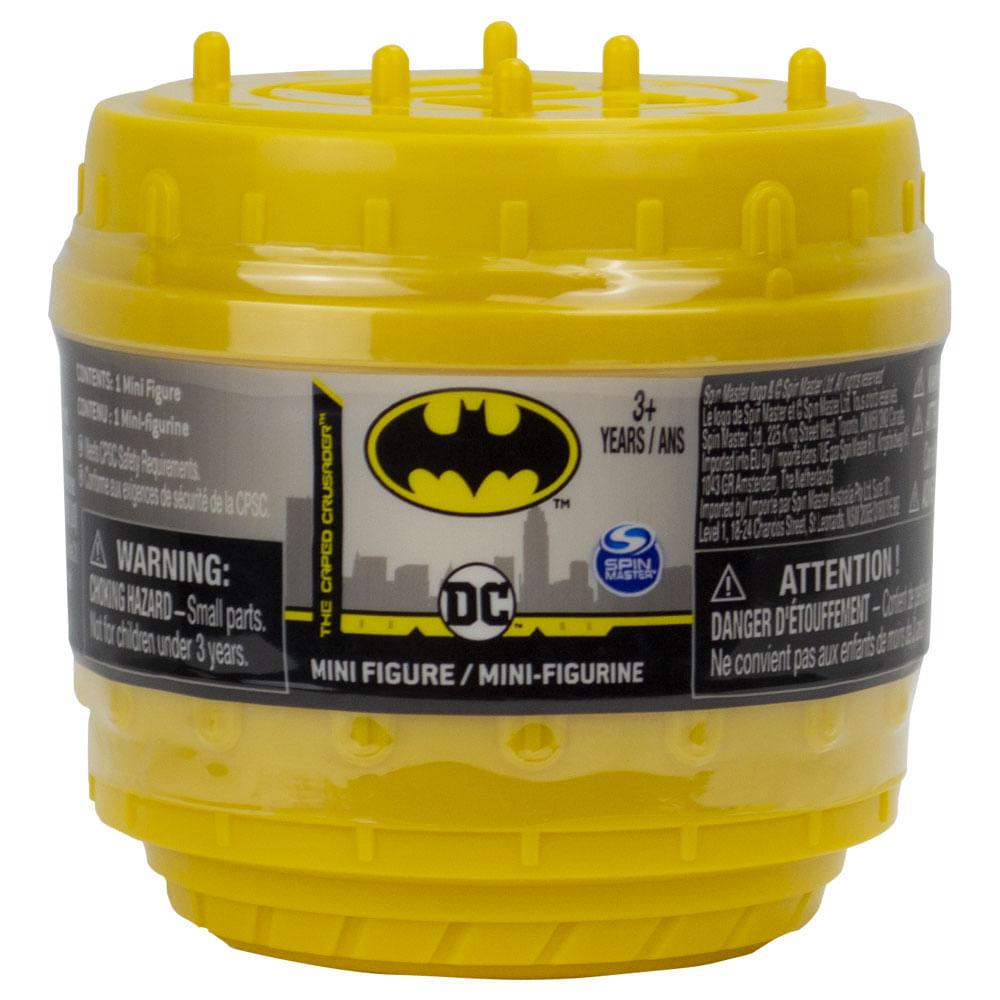 Mini Figura Surpresa - 7 Cm - DC Comics - Batman - Sunny