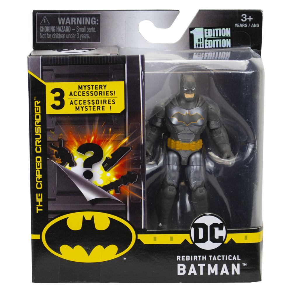 Mini Figura Articulada com Acessórios Surpresa - 9 Cm - DC Comics - Batman - Sunny