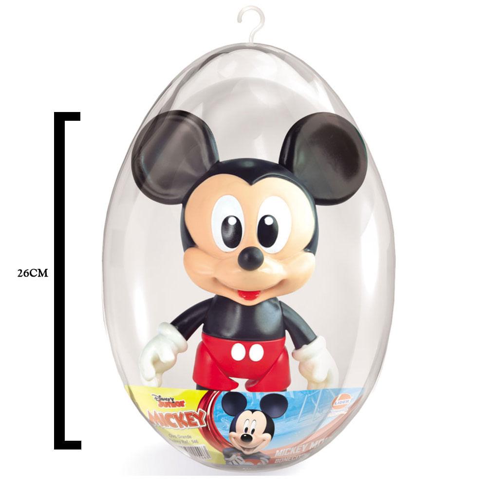 Boneco de Vinil - 26 Cm - Disney - Mickey Mouse - Embalagem de Páscoa - Líder