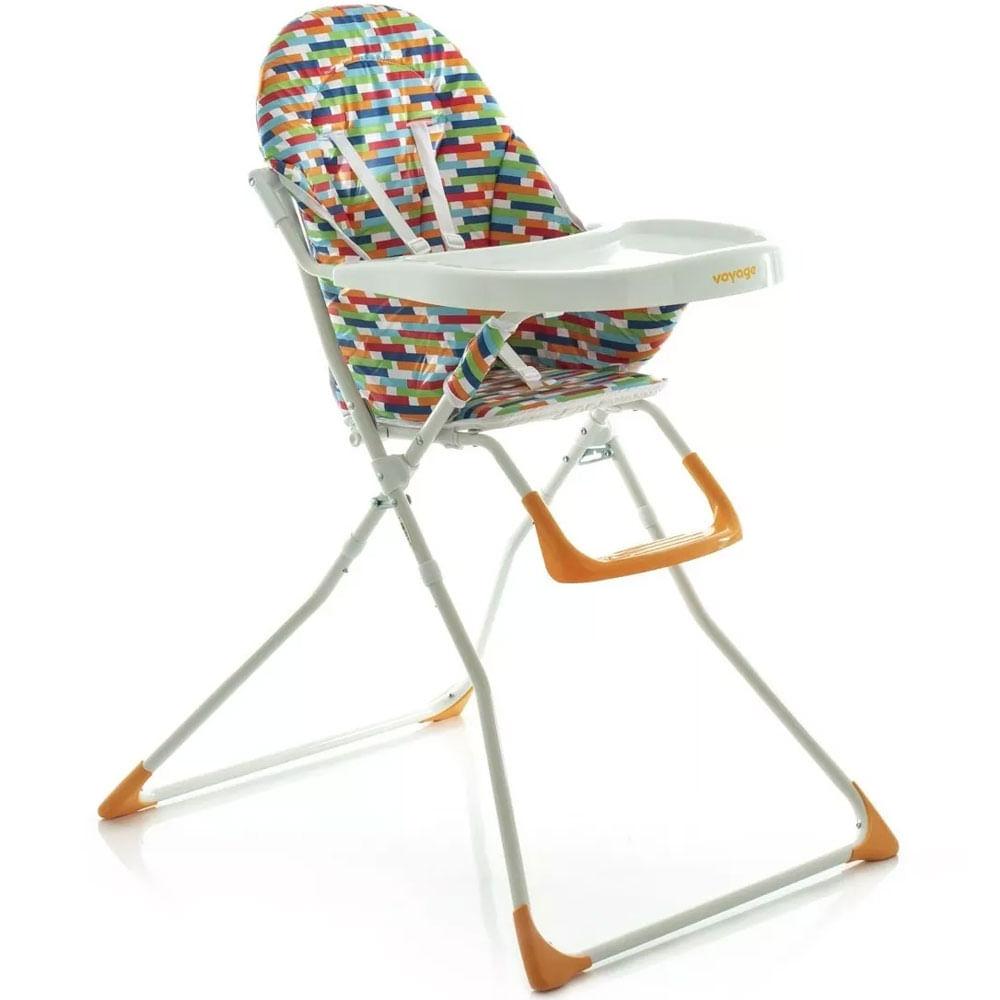 Cadeira de Alimentação - Bebê Petisco Color - Voyage