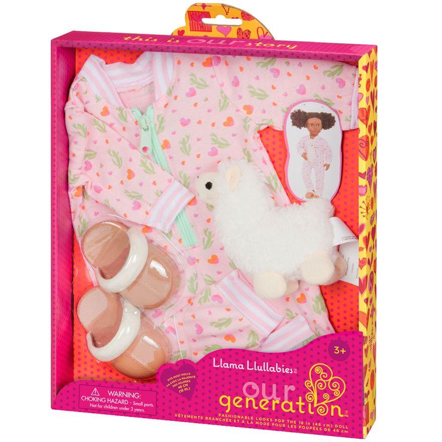 acessorios-de-bonecas-our-generation-pijama-rosa-com-lhama-293_detalhe1