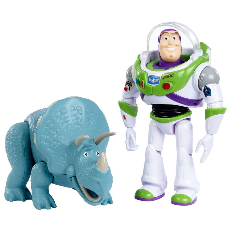 Conjunto-de-Figuras---30-Cm---Disney---Pixar---Toy-Story-4---Buzz-Lightyear-e-Trixie---Mattel