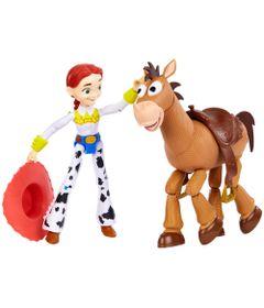 Conjunto-de-Figuras---30-Cm---Disney---Pixar---Toy-Story-4---Jessie-e-Bala-no-Alvo---Mattel