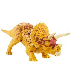 Figura-Articulada---16-Cm---Jurassic-World---Combate-Letal---Triceratops---Mattel