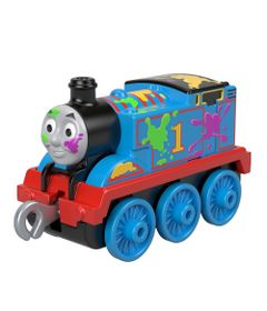 Mini-Veiculo---Thomas-e-Seus-Amigos---Thomas-com-Manchas-de-Tinta---Fisher-Price