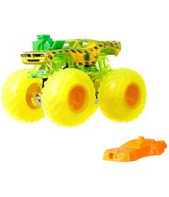 Veiculo-Die-Cast---Hot-Wheels---1-64---Monster-Trucks---Sick-Stuff---Verde---Mattel
