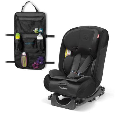 Kit-de-Cadeira-Para-Auto---De-0-a-36-Kg---All-Stages-Fix---Preto---Fisher-Price-e-Organizador-Para-Carrinho---Travel-Bag---Multikids-Baby-1
