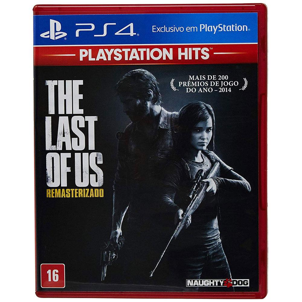 Jogo PS4 - The Last Of Us - Remasterizado Hits - Sony