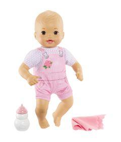 Boneca-Bebe---Little-Mommy---Recem-Nascido---Roupinha-de-Flor---Mattel_Frente