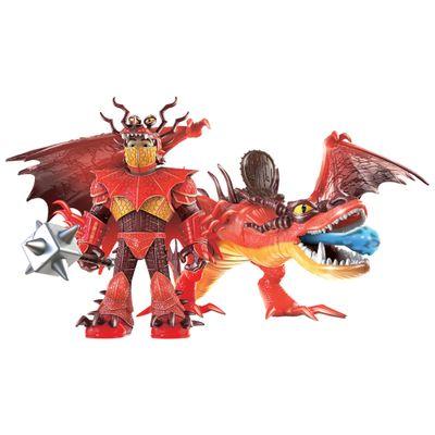 Oferta Figura e Acessórios - Como Treinar Seu Dragão - Snotlout e Hookfang - Sunny por R$ 156.99