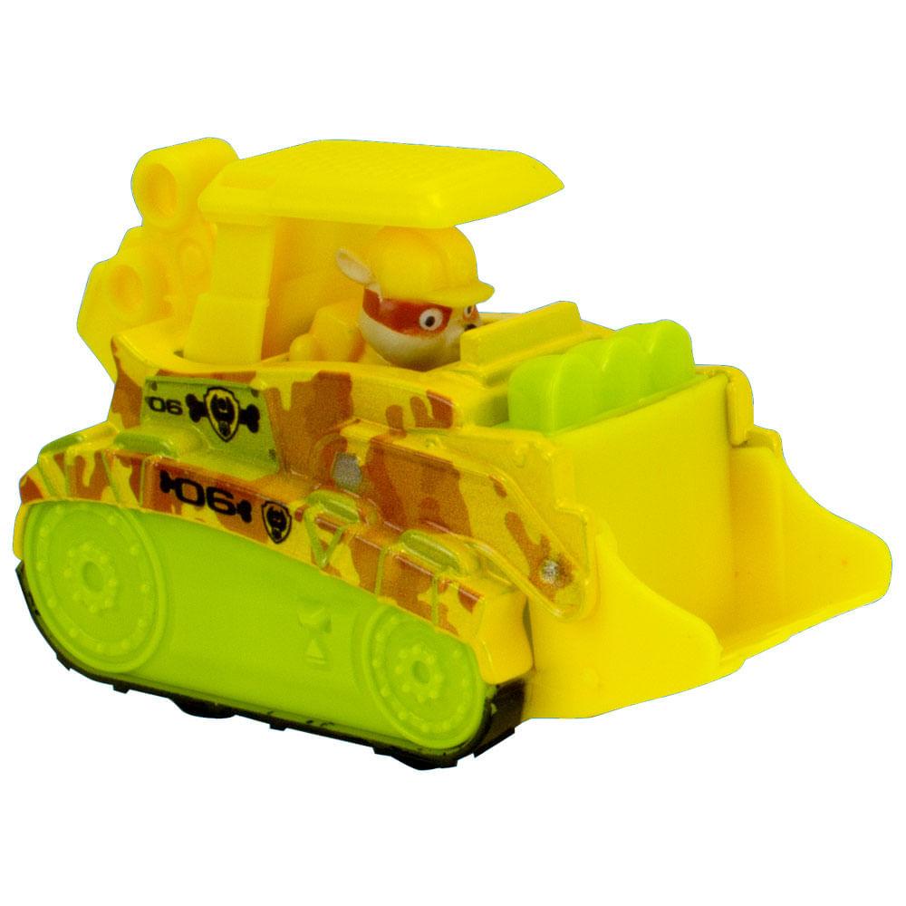 Mini Veículo - Patrulha Canina - Resgate na Selva - True Metal - Rubble - Sunny