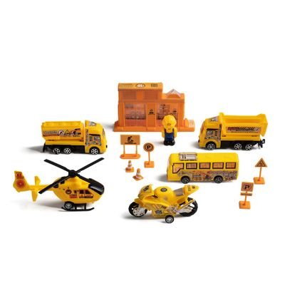Play Machine Construcao Veiculos Indicado para +3 Anos Amarelo Multikids BR971 BR971