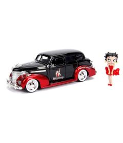 Mini-Veiculo---Escala-1-24---Betty-Boop---Chevy-Master-Deluxe-1939---California-Toys