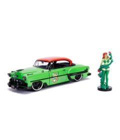 Mini-Veiculo---Escala-1-24--DC-Comics---Poison-Ivy---Chevy-Bel-Air-1953---California-Toys
