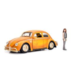 Mini-Veiculo---Escala-1-24--Transformes---VW---Beetle---Bumblebee-e-Charlie---California-Toys