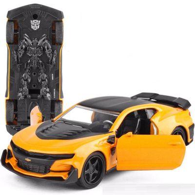 Mini-Veiculo---Escala-1-32---Transformers---Bumblebee---California-Toys